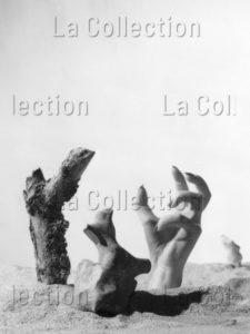 """Lorelle, Lucien. Illustration pour """"Les Chants de Maldoror"""" de Lautréamont. 1947. Photographie. Archives Philippe Gallois."""