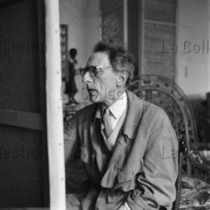 Lorelle, Lucien. Jean Cocteau. 1951. Photographie. Archives Philippe Gallois.