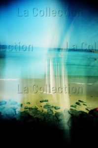 Maufroid, Caroline. Biarritz, De La Crème Solaire Sur L'objectif. 2016. Photographie. Collection Particulière.