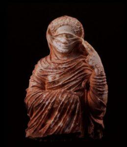 Art Romain. Perséphone, Déesse Des Enfers (buste Funéraire). Vers 75. Sculpture. Cyrène. Musée.
