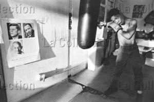 Michahelles, Sandro. Minneapolis Boxing, I. 1993. Photographie. Collection Particulière.