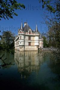 Renaissance. Azay Le Rideau. Château.