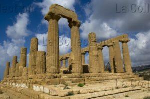 Art Grec. Sicile. Agrigente. Vallée des temples. Le temple d'Héra. Vers 460 450 avt JC. Architecture.