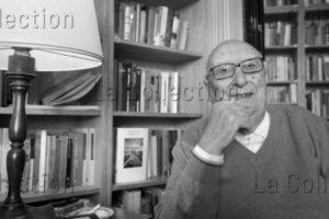 Italie. Littérature. Portrait de l'écrivain sicilien Andrea Camilleri. 2010. Photographie. Collection Particulière.