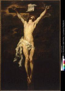 Van Dyck, Antoine. La Crucifixion du Christ. Vers 1621 1625. Peinture. Naples, Museo Nazionale Di Capodimonte.