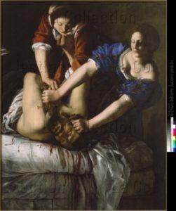 Gentileschi, Artemisia. Judith et Holopherne. 1625 1630. Peinture. Naples, Museo Nazionale Di Capodimonte.