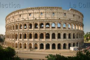 Art Romain. Rome. Colisée. Détail : vue extérieure. Vers 70 80. Architecture.