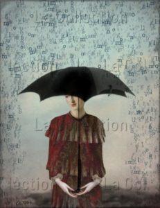 Catrin Welz-Stein. Worte (Mots). 2010-2013. Image numérique. Collection particulière.