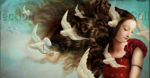 Catrin Welz-Stein. Memories 2. 2014. Image numérique. Collection particulière.
