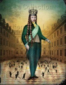 Catrin Welz-Stein. The emperor. 2018. Image numérique. Collection particulière.