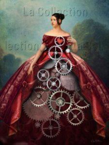 Catrin Welz-Stein. Wheel of fortune. 2018. Image numérique. Collection particulière.