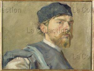 Wyspianski, Stanislaw. Autoportrait. 1892 1894. Peinture. Varsovie, Muzeum Narodowe.
