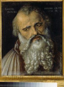 Dürer, Albrecht. L'Apôtre Philippe. 1516. Peinture. Florence, Musée Des Offices.