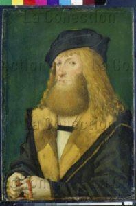 Kaldenbach, Martin. Portrait De Jakob Stralenberger. Début XVIe Siècle. Peinture. Francfort/Main, Städel Museum.