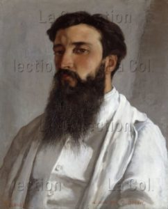 Courbet, Gustave. Portrait De Jules Bordet. 1870. Collection Particulière.