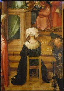 Holbein L'Ancien, Hans. Retable De La Basilique St Paul Hors Les Murs. Détail : Sainte Thècle. 1504. Peinture. Augsbourg, Staatsgalerie In Der Katharinenkirche.