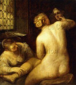 Tintoret. La Toilette De Vénus. XVIe Siècle. Peinture. Collection Particulière.