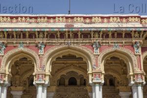 Art indien. Période Nâyak. Palais de Thirumalai Nâyak. 1636. Architecture.