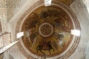 Egypte. Monastère de Saint-Paul-l'Ermite (deir Mar Boulos). Eglise ancienne. Coupole.