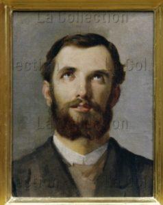 Marinelli, Gaetano. Etude Pour Un Visage Masculin. Entre 1875 Et 1900. Peinture. Florence. Palais Pitti. Galleria Moderna.