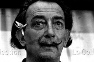 Herschtritt, Léon. Portrait De Salvador Dali. 1962. Photographie. Collection Particulière.