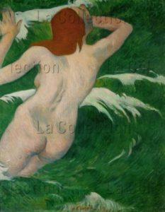 Gauguin, Paul. Femme Nue Dans Les Vagues. 1889. Peinture. Cleveland, Cleveland Museum Of Art.