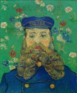 Van Gogh, Vincent. Le Facteur Roulin. 1889. Peinture. Otterlo. Musée Kröller Müller.