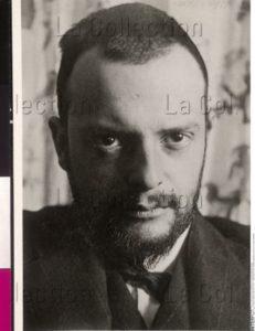 Portrait de Paul Klee. Début XXe siècle. Photographie. Vienne, Österreichische Nationalbibliothek.