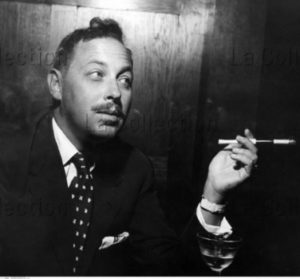 Portrait De Tennessee Williams. Vers 1965. Photographie. Collection Particulière.