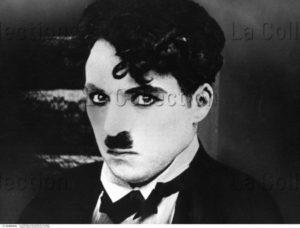 Cinéma. Charlie Chaplin. Vers 1916. Photographie. Collection Particulière.