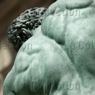 Bosio, François Joseph. Hercule Combattant Achéloüs Métamorphosé En Serpent. Détail : Dos. 1824. Sculpture. Paris. Musée Du Louvre.