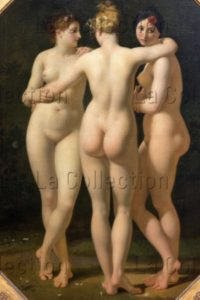 Regnault, Jean Baptiste. Les Trois Grâces. Détail. 1797 1798. Peinture. Paris, Musée Du Louvre.