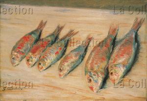 Caillebotte, Gustave. Rougets. 1882. Peinture. Collection particulière.