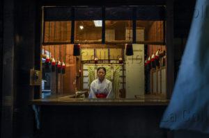 Pons, Sébastien. Japon. Accueil du Temple Meiji Jingu dans le Parc Yoyogi. Photographie.