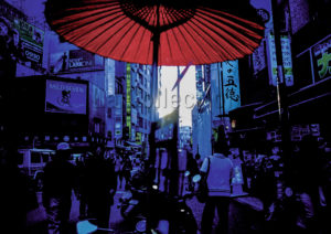 Pons, Sébastien. Né en 1972. - Japon. Tokyo. Harajuku Street. Photographie.