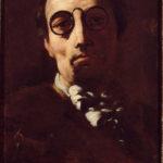 Giordano, Luca. Autoportrait. Peinture. Stuttgart, Staatsgalerie.