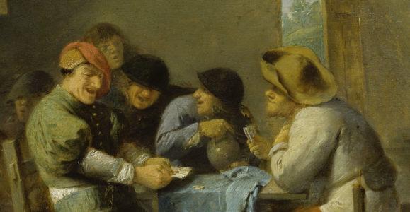 Brouwer, Adriaen. Peinture. Munich, Alte Pinakothek.