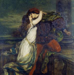 Müller, Victor. Roméo et Juliette. XIXe siècle. Peinture. Munich. Bayerische Staatsgemäldesammlungen.