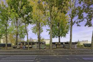 """""""Paris vide"""". Photographie Jean-Michel Drouet."""