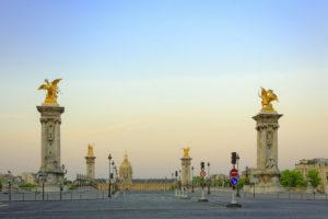 Paris. Pont Alexandre III. Photographie de Jean-Michel Drouet.