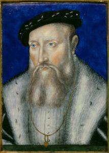 Limosin Leonard - Portrait de Claude de Lorraine, duc de Guise. Vers 1550. Ecouen, Musée National de la Renaissance.