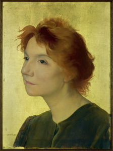 Joseph Granie. Portrait d'Yvette Guilbert. 1895. Peinture. Paris, Musée d'Orsay.