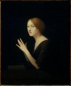 Joseph Granie. Portrait de Marguerite Moreno. 1899. Peinture. Paris, Musée d'Orsay.