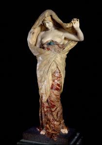 Louis Ernest Barrias. La Nature se dévoilant à la Science. 1899. Sculpture. Paris, Musée d'Orsay.