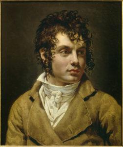 Girodet Trioson. Portrait d homme. Peinture. Bayonne, Musée Bonnat.