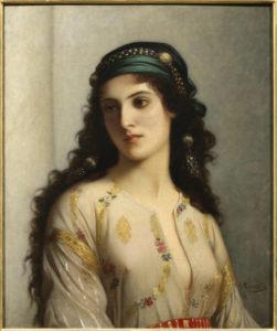 Charles Landelle. Juive de Tanger. 1866. Peinture. Reims, Musée des Beaux-Arts.