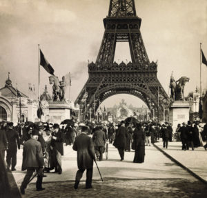 Exposition Universelle de Paris. Champs-de-Mars. 1900. Photographie. Collection particulière.