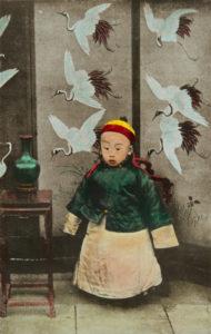 Portrait de Puyi. Vers 1911. Photographie. Collection particulière.
