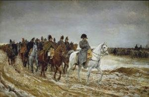 Meissonier, Ernest. Campagne de France, 1814. 1864. Peinture. Paris. Musée d'Orsay.