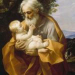 Reni, Guido. Saint Joseph avec l'Enfant Jésus. Vers 1620-1630. Peinture. Saint-Petersbourg. Ermitage.